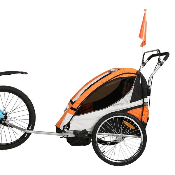 Clevr Elite 3 in 1 Two Seat Bike