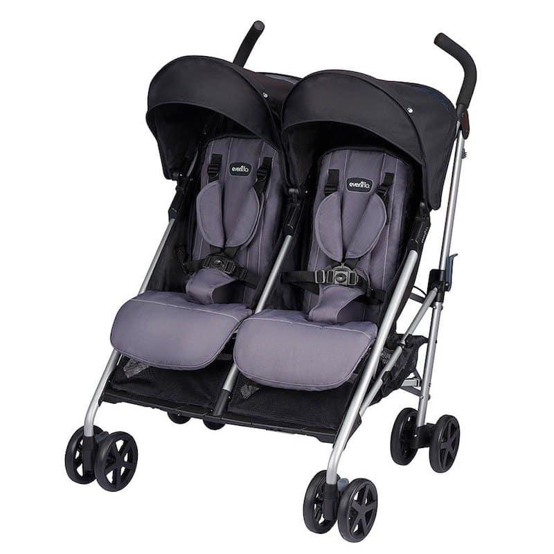 E+venflo Minno Twin Stroller