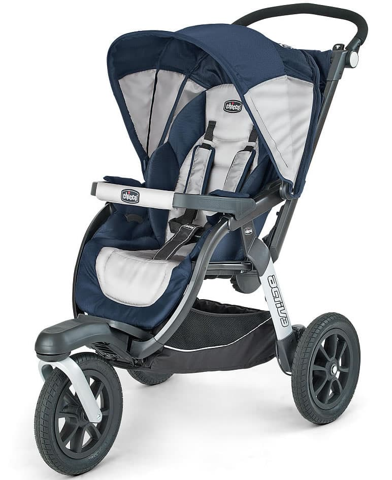 Chicco Activ3 Q collection Jogger Stroller safety