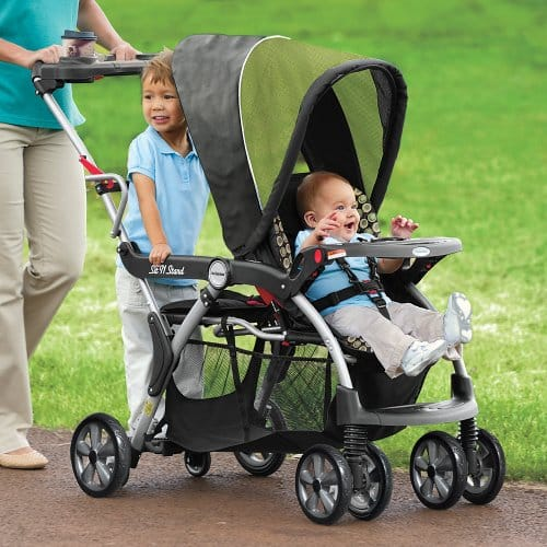 Elite sit and stand stroller