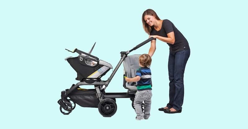 Double Stroller For Infant and Toddler1