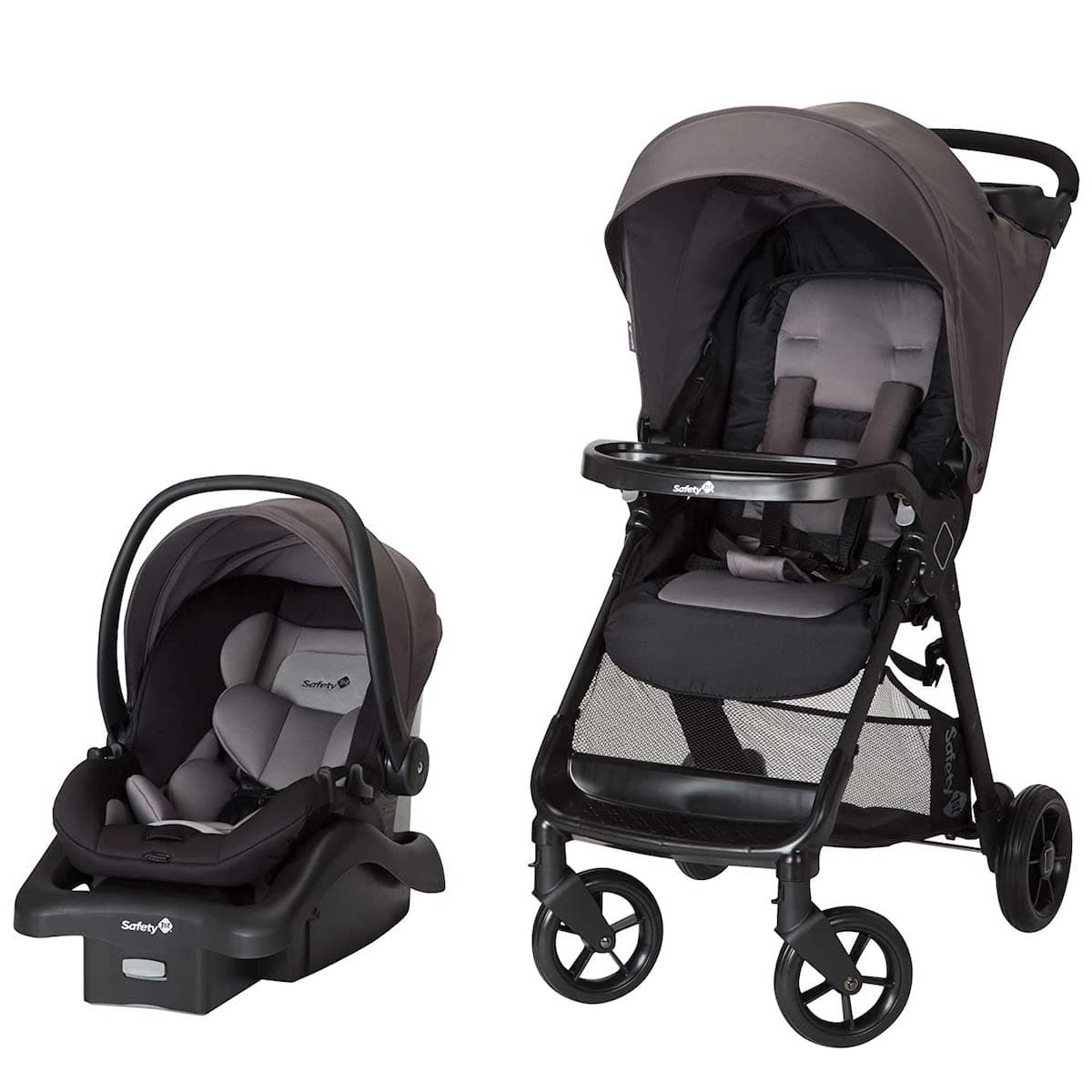 Safety 1st Smooth Ride Travel System Infant Car Seat, Monument