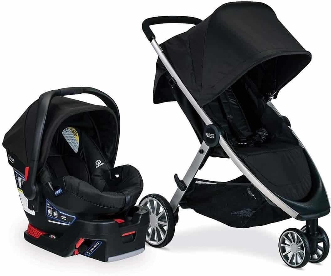 Britax B-lively 3 wheel lightweight stroller