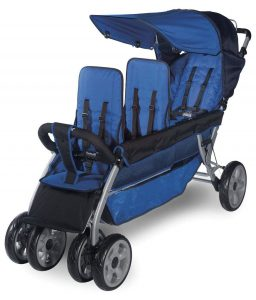 Foundation triple stroller