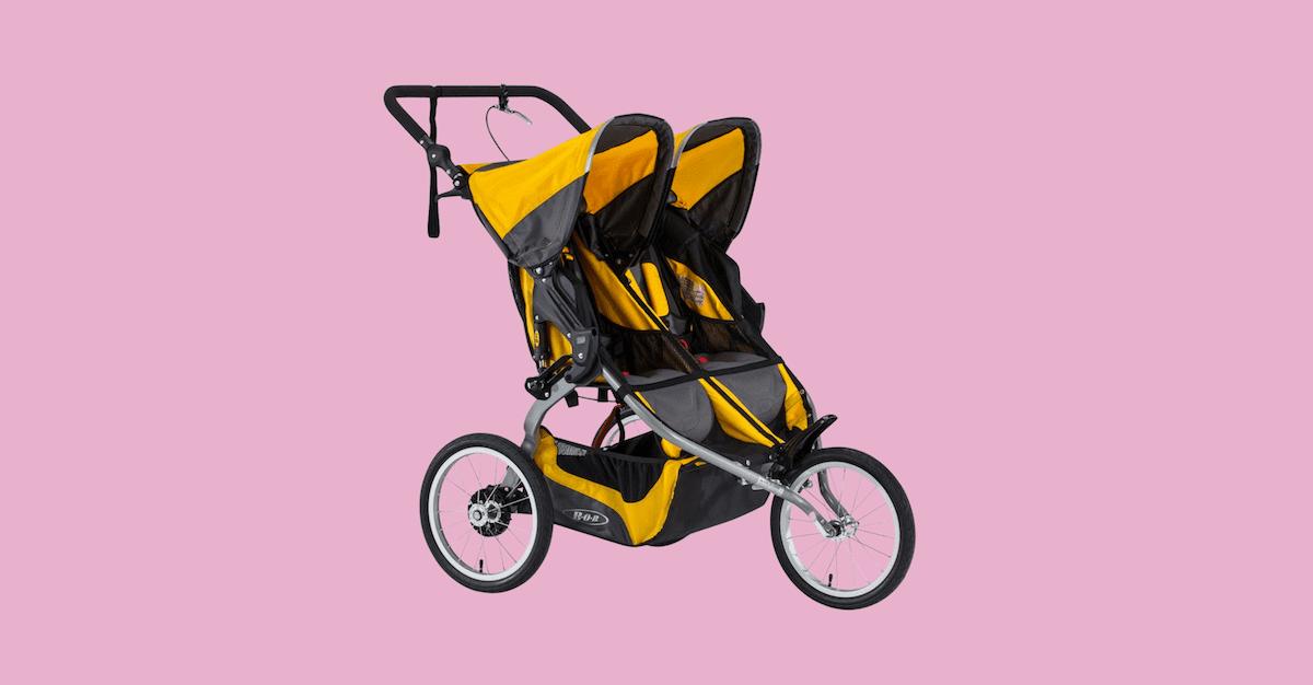 bob ironman double stroller