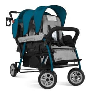 gaggle-compass-3-seat-tandem-triple-stroller-with-canopy